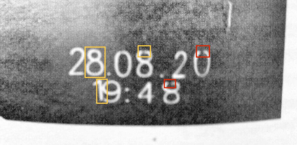 Mindesthaltbarkeitsdatum Labelled