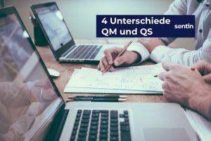 4 Unterschiede QM und QS